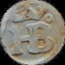 HB monogram O rechts