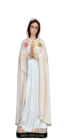 Religious statues Mary - Our Lady of Rosa Mystica