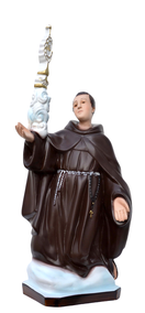 Religious statues saints male - Saint  Paschal