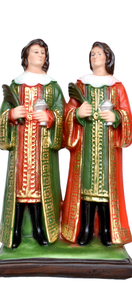 Religious statues saints male - Saint  Cosmas and Damian