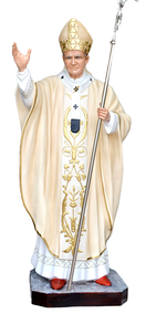 Religious statues saints male - Saint  John Paul II