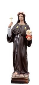 Religious statues saints female - Saint Rosalia
