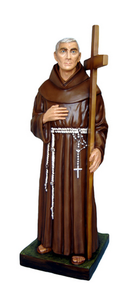 Religious statues saints male - Saint  Ludovico of Casoria