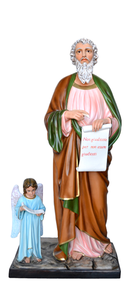 Religious statues saints male - Saint  Matthew the Evangelist