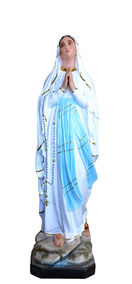 Religious statues Mary - Our lady of Lourdes