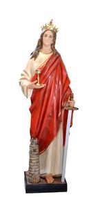 Religious statues saints female - Saint Barbara