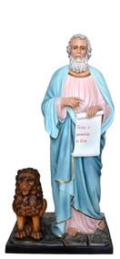 Religious statues saints male - Saint  Mark the Evangelist