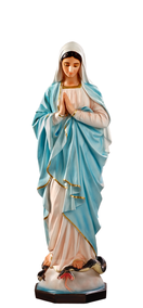 Religious statues Mary - Our Lady of grace with hands clasped