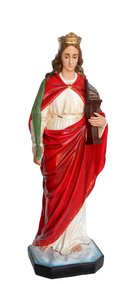 Religious statues saints female - Saint Cecilia