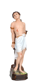 Religious statues saints male - Saint  Sebastian