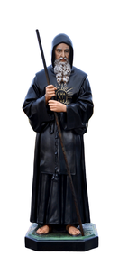 Religious statues saints male - Saint  Francis of Paola