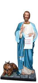 Religious statues saints male - Saint  Luke the Evangelist