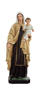 Religious statues Mary - Our Lady of Mount Carmel