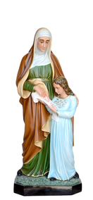 Religious statues saints female - Saint Anne