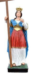 Religious statues saints female - Saint Helena