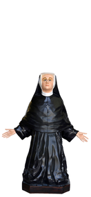 Religious statues saints female - Saint Faustina Kowalska