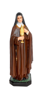 Religious statues saints female - Saint Clare of Assisi