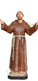 Religious statues saints male - Saint  Francis of Assisi