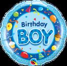Ballon Folienballon Heliumballon Luftballon Geburtstag Junge Jungs blau Birthday Girl Kindergeburtstag Party Dekoration Deko Zahlen Jahr 1 2 3 4 5 Bär Bauernhof Tiere Lastwagen Bagger Alien Weltraum Pirat Seeräuber
