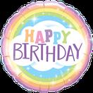 Folienballon rund rosa pink schwarz Frau Mädchen Heliumballon Kindergeburtstag Geburtstag Deko Dekoration Party Bouquet Ballon Luftballon Happy Birthday to you elegant Damask