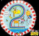 Luftballon Ballon Heliumballon Folienballon Ballongeschenk Ballongruß Geburtstag Kindergeburtstag 1 2 3 4 5 Happy Birthday Affe Giraffe Superheld Hero Dinosaurier Pirat Seeräuber Drache Deko Dekoration