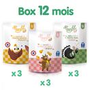 9 petits pots halal pour bébés à partir de 12 mois, à la viande de bœuf, de dinde et de poulet