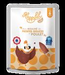 Petit pot bébé patates douces poulet, halal, bio, dès 6 mois