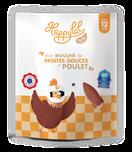 Recette petit pot dès 12 mois poulet patate douce, bio, halal