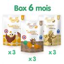 Box de 9 repas halal et bio à partir de 6 mois au bœuf, au veau et au poulet