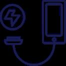 Ladebuchse defekt, Mobilphone, Logo