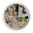 gartendekoration gartendeko, eulen, garden living, wohntrend, handarbeit, geschenk, weihnachten, unikat, metall, skulptur, tierfigur, balkon, terasse, home and garden