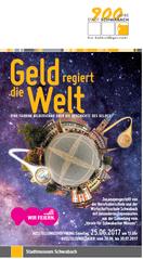 """Bis Ende Juli im Stadtmuseum Schwabach zu sehen zusammen mit mit der Ausstellung über """"Schwabacher Münzen und Medaillen im Wandel der Zeit"""""""