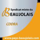 Logo du Syndicat mixte du beaujolais qui nous à aider à obtenir la subvention de la région Auvergne-Rhône-Alpes