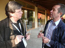 Christian G.E. Schiller mit Luigino Bertolazzi