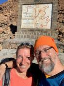 Startpunkt zum Aufstieg auf den Teide