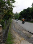 Straße vorm P3W