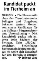 Bürgermeisterkandidat Rauschkolb packt an