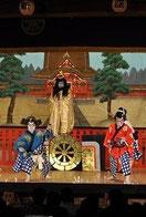 伝統芸能地歌舞伎花馬祭り伝統建築芝居小屋