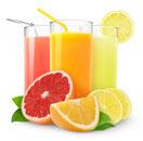 Nectars de fruits : C'est du jus ou de la purée de fruit mélangée à du sucre et de l'eau. Ce sont en général les moins chers car la teneur en fruit varie de 25 % (fruits à jus épais) à 50 % (agrumes). La quantité de fruit doit être indiquée.  LR Health