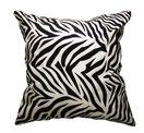タイシルククッションカバー ゼブラ デザイン シリーズ 【Zebra Design】 45×45cm対応の商品ページのトップ画像01