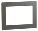 Design-Rahmen DR 801 uP (Edelstahl gebürstet) von Telenot;  presented by SafeTech
