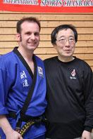 Großmeister Tetsundo Tanabe, der Erfinder von Sports-Chanbara