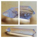 Vogel Kristall aus Bergkristall,  12 seitig facettiert, Brasilien