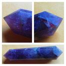 Vogel Kristall aus Amethyst, 16 seitig facettiert