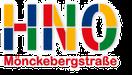Logo der HNO-Partnerpraxis in der Hamburger Innenstadt
