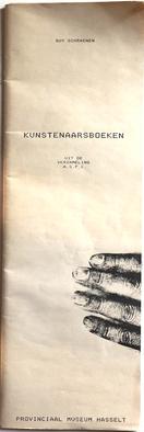 Kunstenaarsboeken A.S.P.C., Guy Schraenen Catalogue