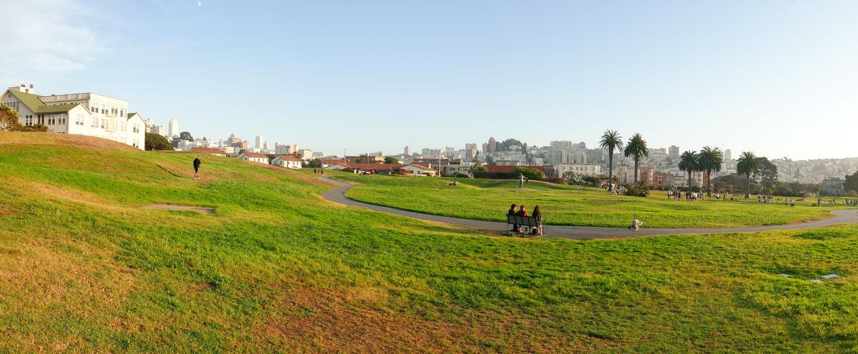 Panorama,fort,mason,park,san,francisco,usa,seelöwen,rundreise,jucy,campervan,sehenswürdigkeit