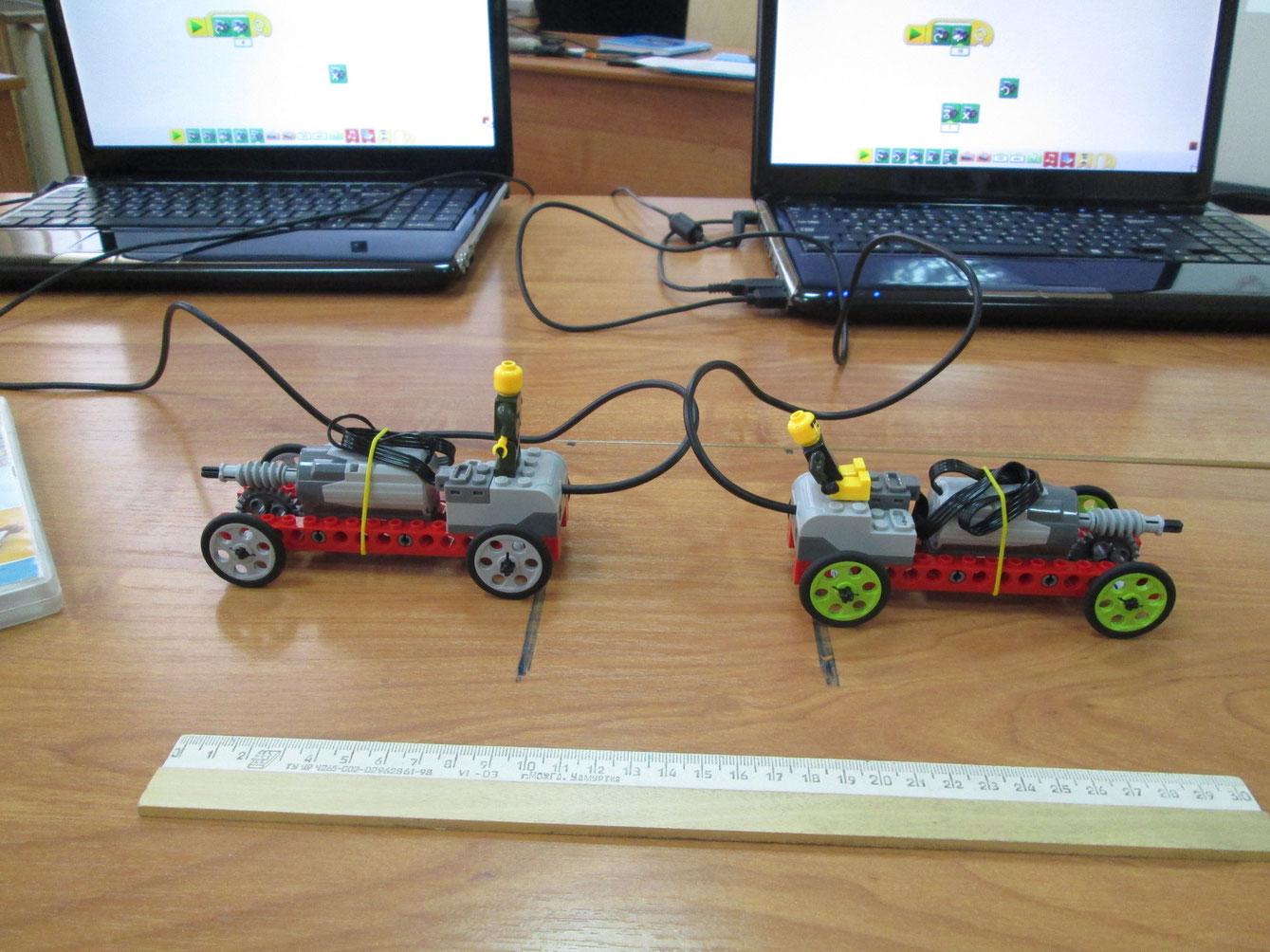 Тема: формулы движения.Используем построение моделей в конструкторе Lego Wedo.