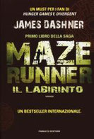 Il labirinto. Maze Runner. Vol. 1 di Dashner James      Prezzo:  € 14,90     ISBN: 9788834729878     Editore: Fanucci     Genere: Fantascienza     Dettagli: p. 408