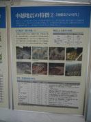 中越地震から10年展示(おぢや震災ミュージアムそなえ館様ご協力による)